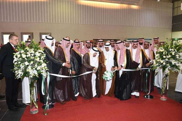 رعى انطلاق «معرض البناء».. أمير الرياض: 54 مليار ريال إنفاق على البنية التحتية