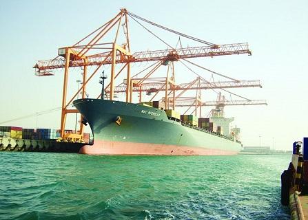 نمو حجم البضائع المناولة في ميناء الجبيل التجاري