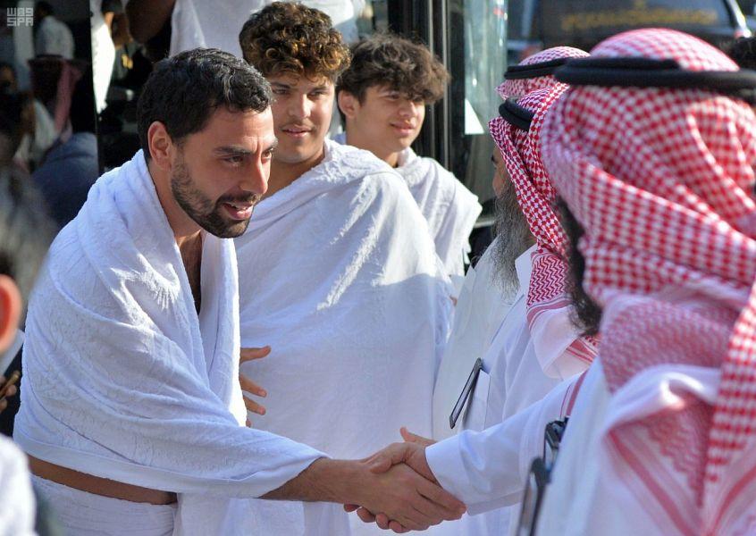 وصول 342 حاجاً من ضيوف خادم الحرمين الشريفين إلى مكة المكرمة لأداء مناسك الحج