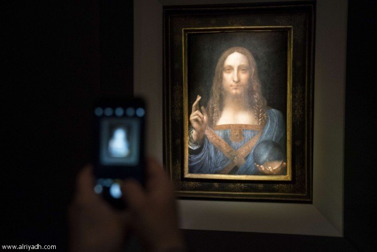 The painting for Davinci is sold at an auction of $ 450.3 million