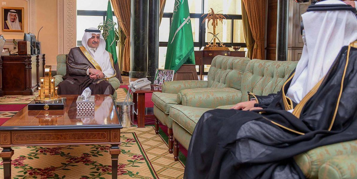 سمو الأمير فهد بن سلطان يستقبل الرئيس التنفيذي لشركة إسمنت تبوك