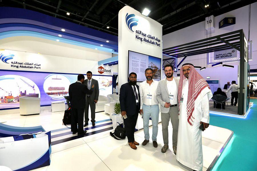ميناء الملك عبدالله يختتم مشاركته بفعاليات مؤتمر ومعرض