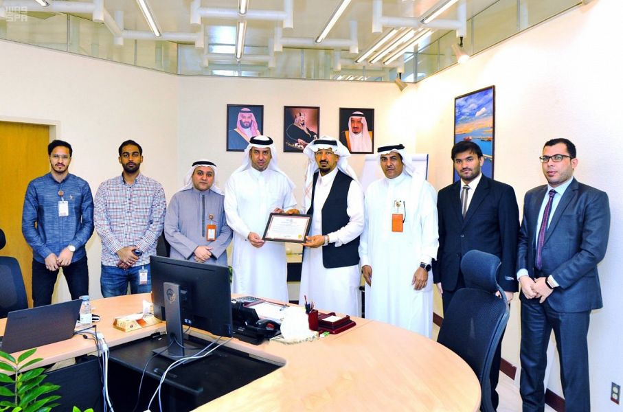 The Royal Commission Laboratory in Yanbu obtains the ISO certificate for laboratories