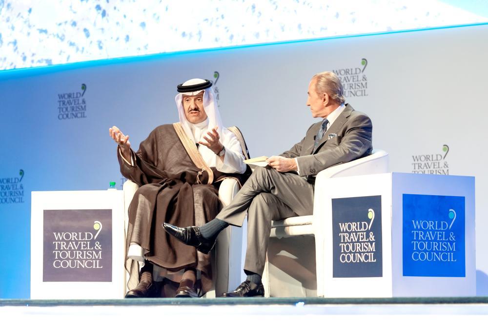 سلطان بن سلمان: المملكة قادمة بقوة.. 1.2 مليون وظيفة في السياحة