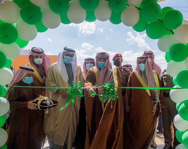 سمو أمير القصيم يدشن مشاريع تنموية جديدة بالمنطقة بتكلفة تتجاوز 34 مليون ريال