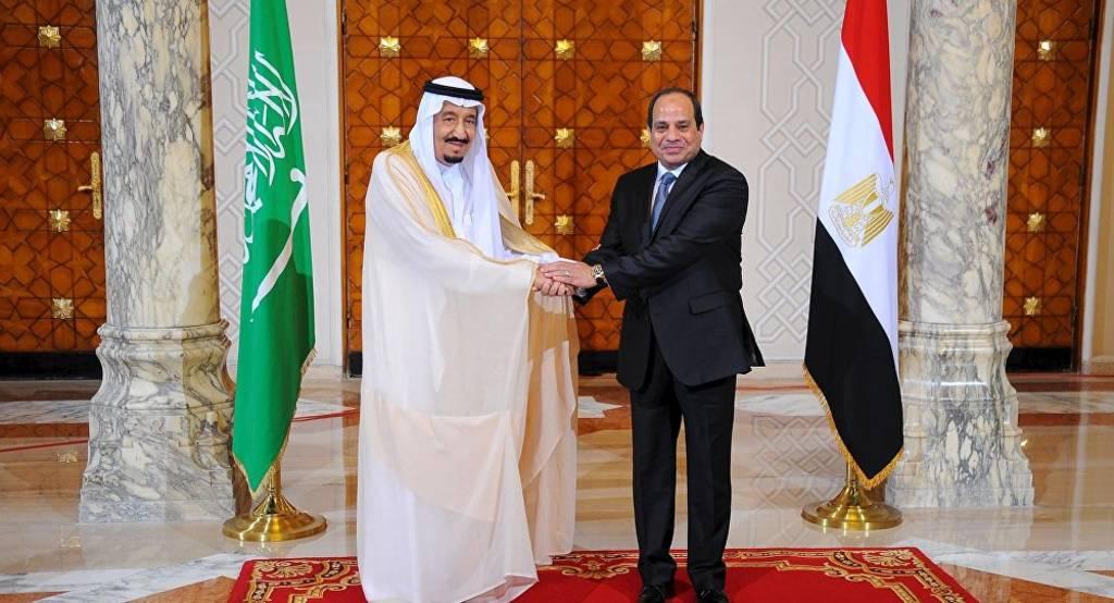 الملك سلمان يتلقى اتصالاً من الرئيس السيسي