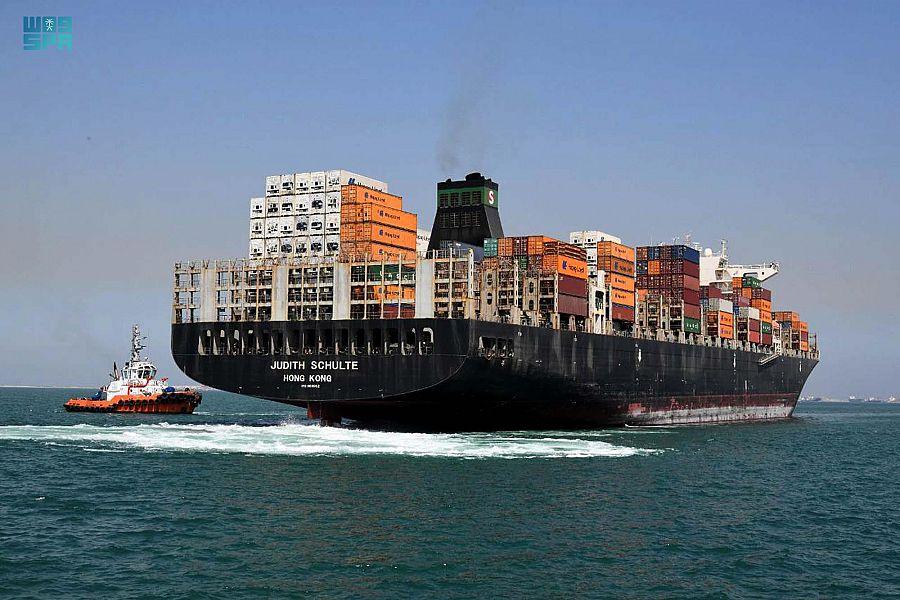 ميناء الجبيل التجاري يحقق زيادة ٢٧% في مناولة الحاويات