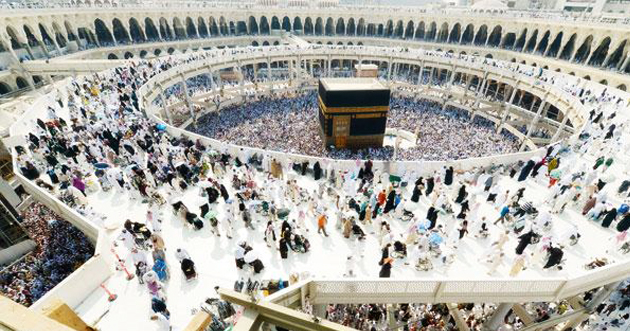 رئاسة شؤون الحرمين: صدع في الجسر الأرضي المعلّق يوقف الطواف